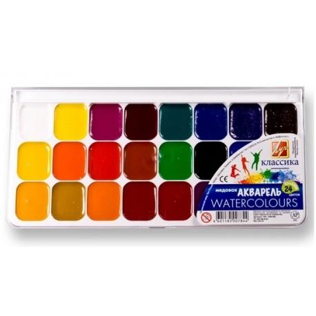 01818 Краски акв. 24 цв. Луч