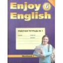 Биболетова. Английский язык. Enjoy English. 6 кл. Р/т №1. Учебное пособие. (ФГОС).