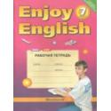 Биболетова. Английский язык. Enjoy English. 7 кл. Р/т. (ФГОС).