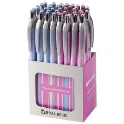 """Ручка шариковая автоматическая 0.5мм """"SAKURA"""" синяя, 2 вида"""