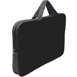 Папка-сумка 350*265*45 ПМД 2-01 чёрная, ткань