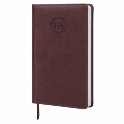 """Ежедневник датированный 2022 г. A5 168л кожзам """"Favorite"""", коричневый"""