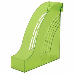 "Лоток вертикальный ""Office"", ширина 95 мм, зелёный"
