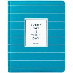 Дневник 1-11 кл. 48л Trendy turquoise, иск. кожа, 35737