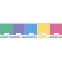Тетрадь 12л линия ''Цветные фоны'', ассорти