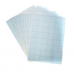 Бумага масштабно-координатная 400*600, голубая , Лилия Холдинг