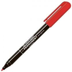 Маркер перманентный 1.0 мм красный, круглый наконечник 2846, CENTROPEN