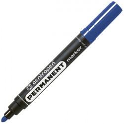 Маркер перманентный 2.5 мм синий, круглый наконечник 8566, CENTROPEN