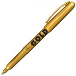 Маркер перманентный 1.8 мм золотой, круглый наконечник 2690, CENTROPEN