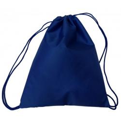 Мешок для обуви МО-25 (330*420 мм) 1 отделение, тёмно-синий
