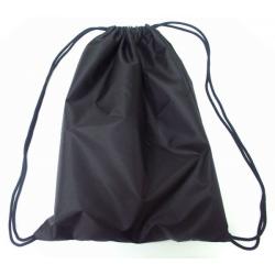 Мешок для обуви МО-25 (330*420 мм) 1 отделение, чёрный