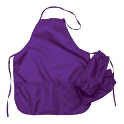Фартук для труда ФН 25 фиолетовый