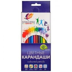 "Карандаши 12 цв ""Классика"" ЛУЧ"