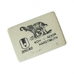 """Ластик """"ELEPHANT"""" 300/60 прямоугольный белый 30*20*7"""
