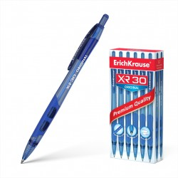 """Ручка шариковая автоматическая 0.7 мм """"XR-30"""" синяя, ERICH KRAUSE"""