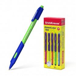 Ручка шариковая автоматическая 0.7 мм ''XR-30 SPRING'' синяя, ассорти, ERICH KRAUSE