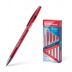 """Ручка гелиевая 0.5 мм """"R-301 ORIGINAL GEL"""" красная, ERICH KRAUSE"""