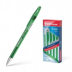 """Ручка гелиевая 0.5 мм """"R-301 ORIGINAL GEL"""" зелёная, ERICH KRAUSE"""