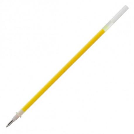 Стержень гелевый 0.7 мм CROWN жёлтый