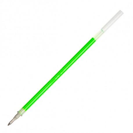 Стержень гелевый 0.7 мм CROWN светло-зелёный