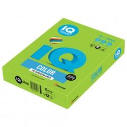 Бумага A4 IQ ''COLOR INTENSIVE'' 80 г/м2 500 л ярко-зелёная, MA42