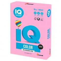 Бумага А4 IQ ''COLOR NEON'' 80 г/м2 500 л розовая, NEOPI