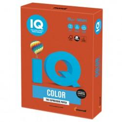 Бумага А4 IQ ''COLOR INTENSIVE'' 80 г/м2 500 л красный кирпич, ZR09