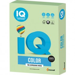 Бумага IQ ''COLOR PALE'' 160 г/м2 250 л, пастель зелёная, MG28
