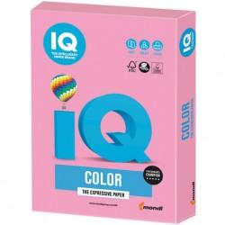 Бумага IQ ''COLOR PALE'' 160 г/м2 250 л, пастель розовая, PI25