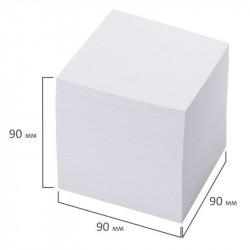 Блок для записей 9*9*9 см 800 л, белый