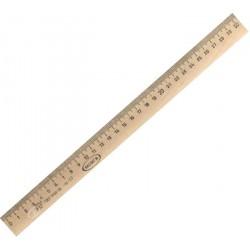 03304 Линейка деревянная 30см