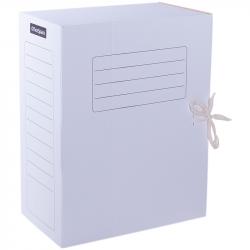 Папка архивная с завязками 150 мм, картонная белая
