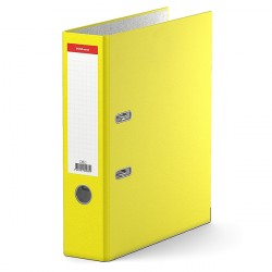 Папка-регистратор 70 мм ERICH KRAUSE, жёлтая