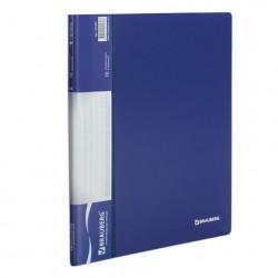 Папка 10 файлов синяя, 0.5 мм