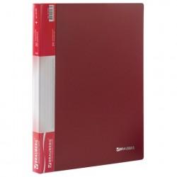 Папка 20 файлов красная, 0.6 мм