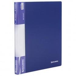 Папка 20 файлов синяя, 0,6 мм