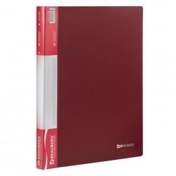 Папка 40 файлов красная, 0.7 мм