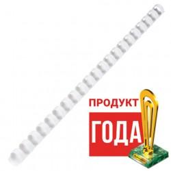 Пружины пластиковые 100 шт 12 мм (для сшивания 56-80 л), белые