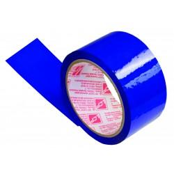 Клейкая лента упаковочная 48*66 синяя Луч, 40 мкм