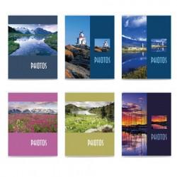 Фотоальбом на 36 фото 10*15 см, мягкая обложка, Пейзаж, ассорти