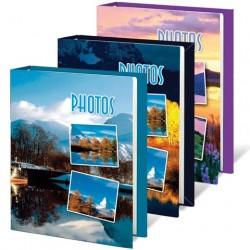 Фотоальбом на 60 фото 10*15 см, твердая обложка, Природа, ассорти