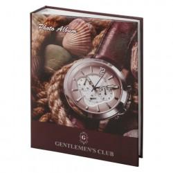 Фотоальбом на 200 фото 10*15 см, твердая обложка, Часы