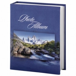 Фотоальбом на 200 фото 10*15 см, твердая обложка, Горный пейзаж