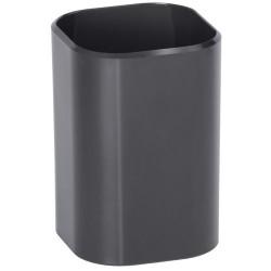 """Подставка-стакан """"Визит"""" 70*70*100 мм, тонированная чёрная"""