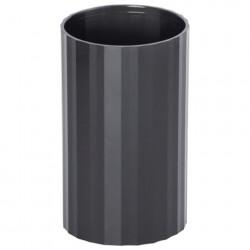 """Подставка-стакан """"Гранд"""" тонированная чёрная"""