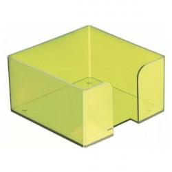 Подставка под куб 9*9*5 тонированная зелёная (КИВИ)