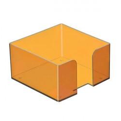 Подставка под куб 9*9*5 тонированная жёлтая (МАНГО)
