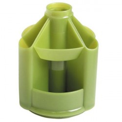 """Подставка для канц принадлежностей """"Mini Desk"""" зелёная"""
