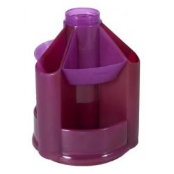 """Подставка для канц принадлежностей """"Mini Desk"""" фиолетовая"""