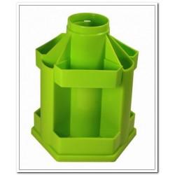 """Подставка для канц принадлежностей """"Maxi Desk"""" вращающаяся, зелёная"""